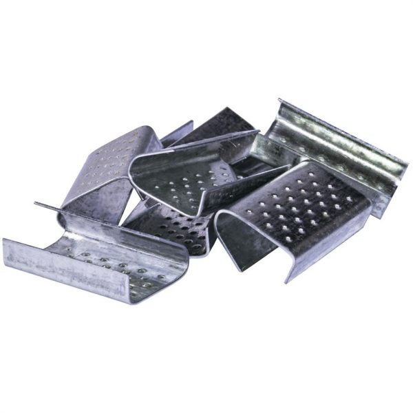 снимка на Метален клипс за пластмасова лента