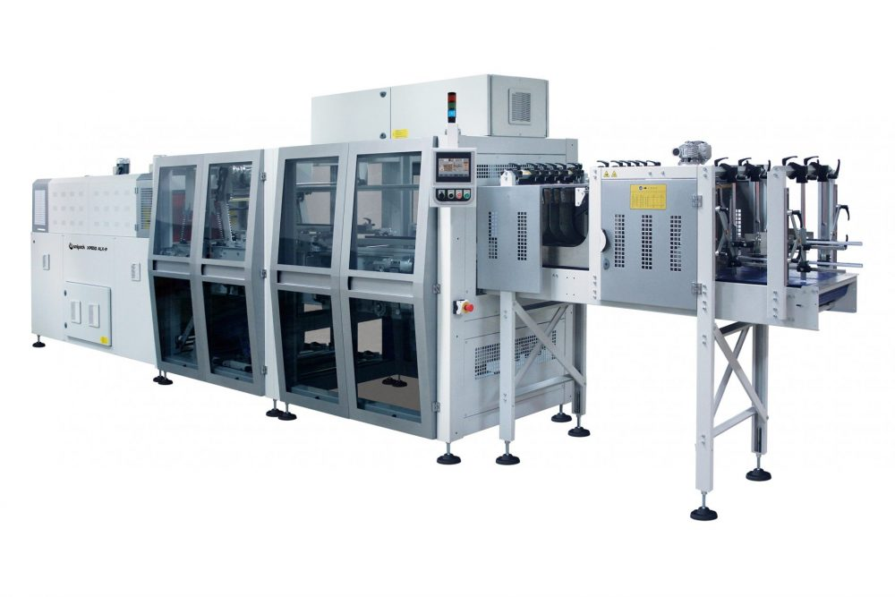 Stack packing, thermofoiling machine XP650-ALX-P-Pakin