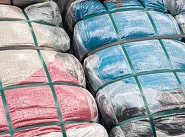 Опаковане на памук, платове, дрехи Пакин