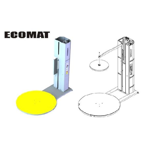 Фолираща машина с въртяща платформа Ecomat easy Пакин