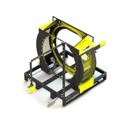 Mașină de ambalare cu întindere Orbital Yellow Jacket Packin