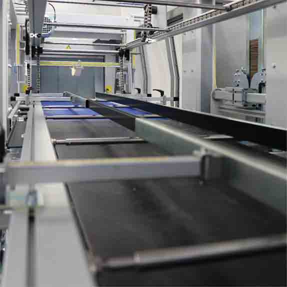 Стек опаковаща, термофолираща машина XP650-ARX-Пакин