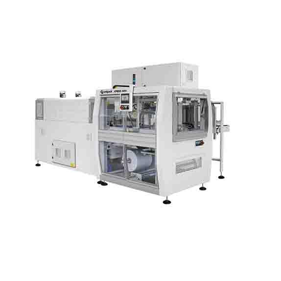 Стек опаковаща, термофолираща машина XP650-ARX Пакин